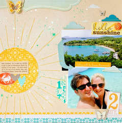 Hello Sunshine {Studio Calico Memoir!}