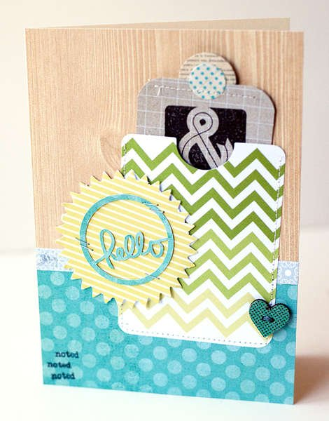 Hello & Thank You Card {Studio Calico May Kit}