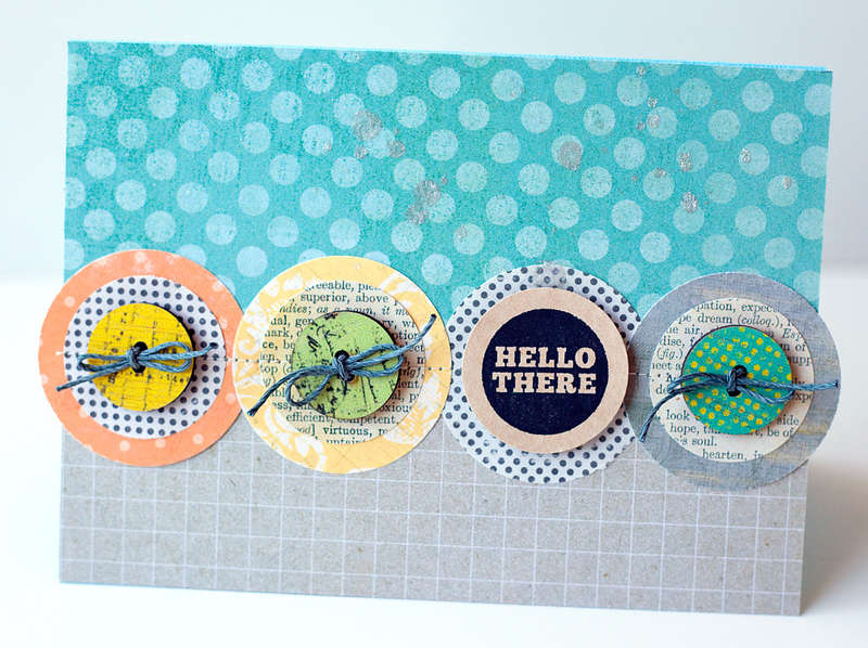 Hello There Card {Studio Calico MAY Kit}