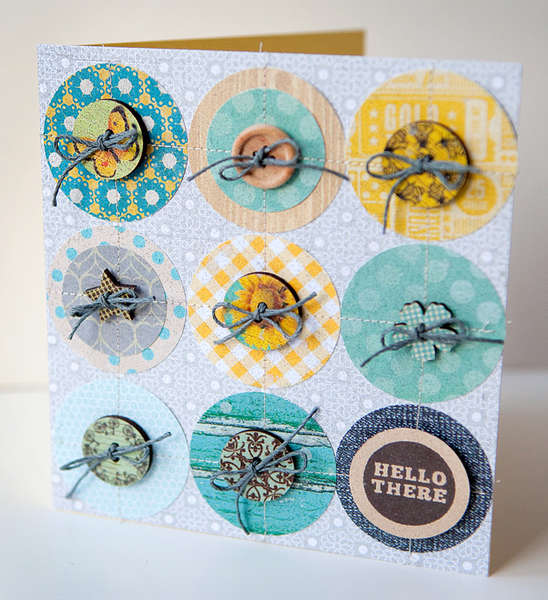 Hello There Card {Studio Calico MAY Kit!}