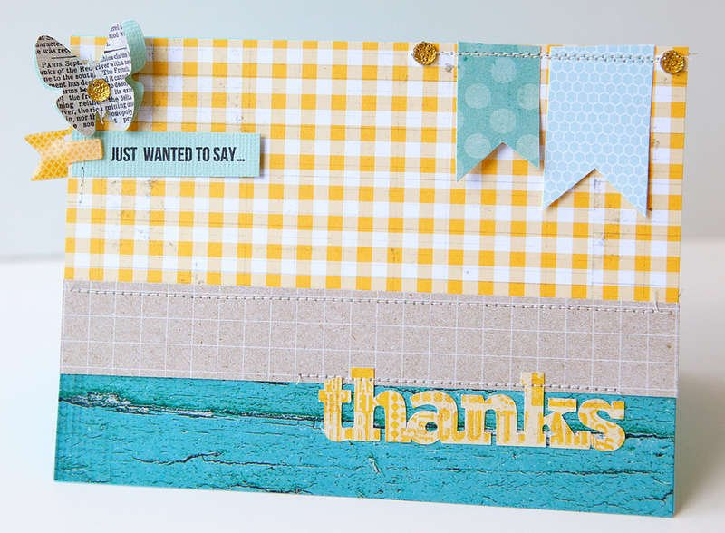 Just wanted to say Thanks Card {Studio Calico MAY Kit!}