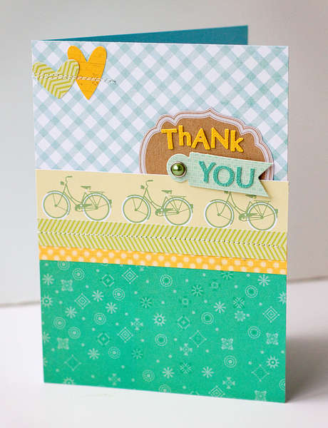 Thank You Card {Studio Calico April Kit}