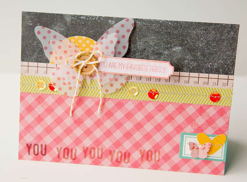 You are my favorite card {Studio Calico April Kit}