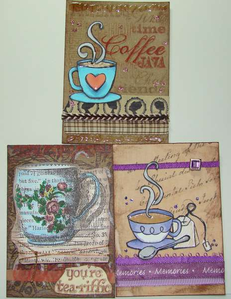 Bean Dream & Leaf Luxe ATCs