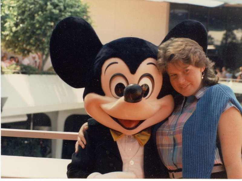 Karen & Mickey Mouse