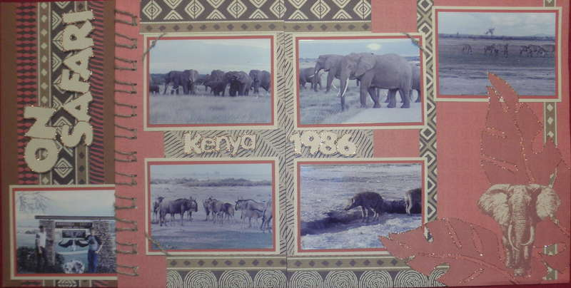 On Safari (2 page)