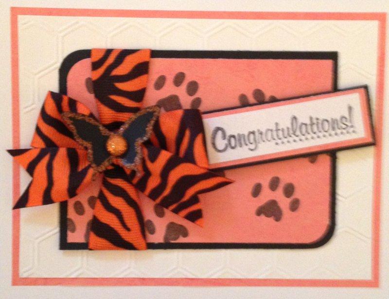 Wild Congrats Card