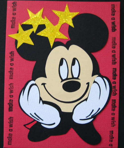 Make a wish-Mickey Mouse