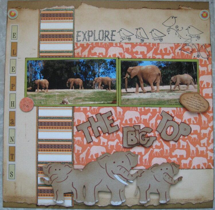 The big top-elephants