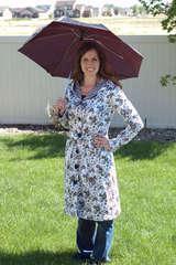Raincoat- Doodlebug Fabric for Riley Blake