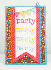 """Party"" Card *Doodlebug Stamps*"