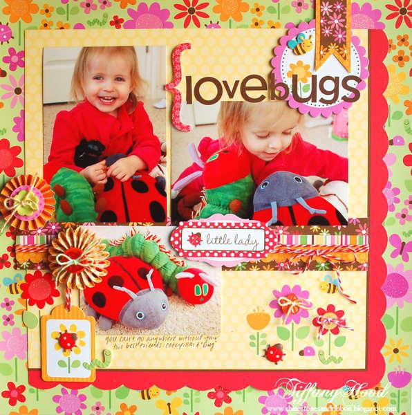 Love Bugs Layout *Doodlebug Design*