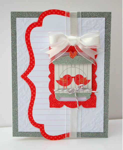 """Love Birds"" Card *Doodlebug Design*"