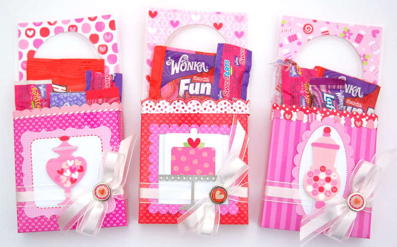 Valentine's Door Hanger Treat Holders *Doodlebug Design*
