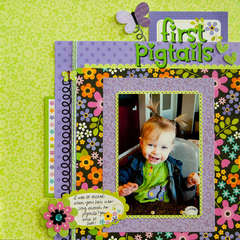First Pigtails *Doodlebug Design*