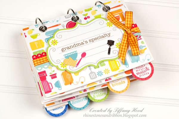 Recipe Book Mini Album *Doodlebug Design*
