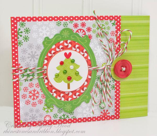 North Pole Christmas Card 1 *Doodlebug Design*