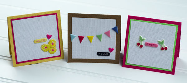 Mini Cards *American Crafts*