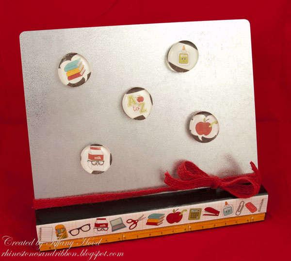 Teacher Gift Magnet Board *Imaginisce*