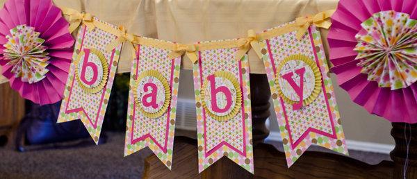 Baby Banner *Doodlebug Design*