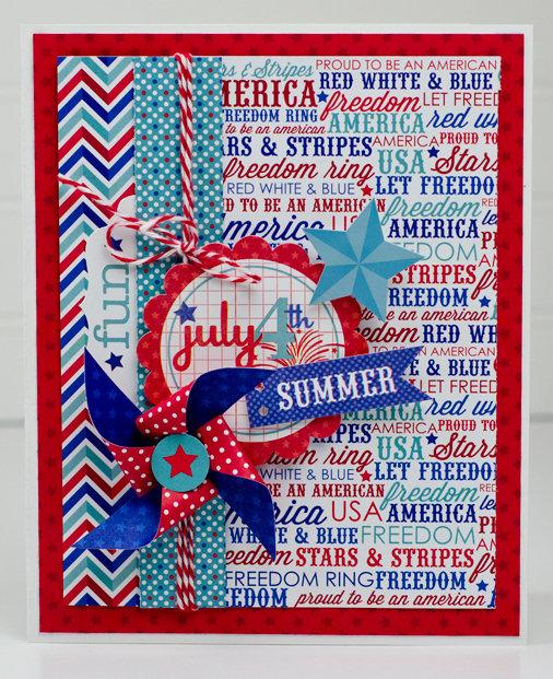 4th of July Card *Doodlebug Design*