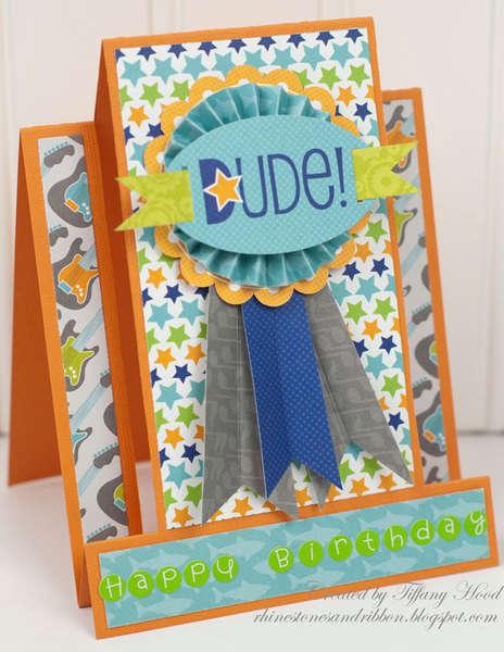 Dude! Happy Birthday! *Doodlebug/Scor-Pal*