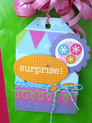Cake and Ice Cream Party Gift Tag 2 *Doodlebug Design*