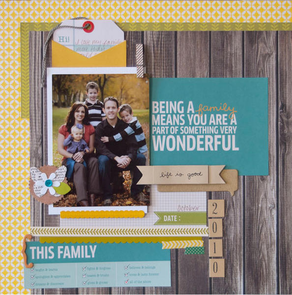 """This Family"" Layout *Pebbles*"