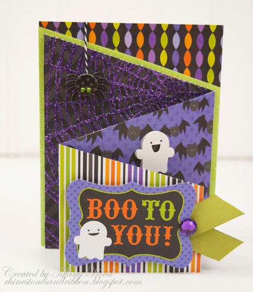 """Boo To You"" Card *Doodlebug Design*"