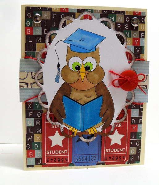 digital delights - scraptastic club graduation card