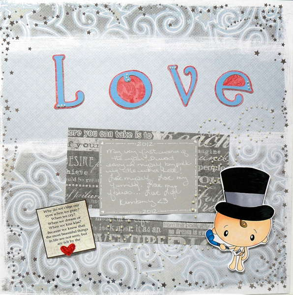 """2012- word of the year """"love"""""""