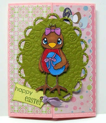 happy easter - digi my world stamp