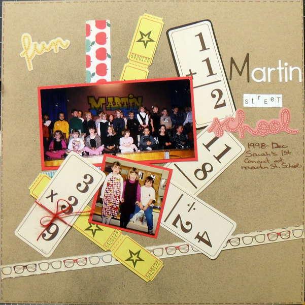 martin street school - scraptastic