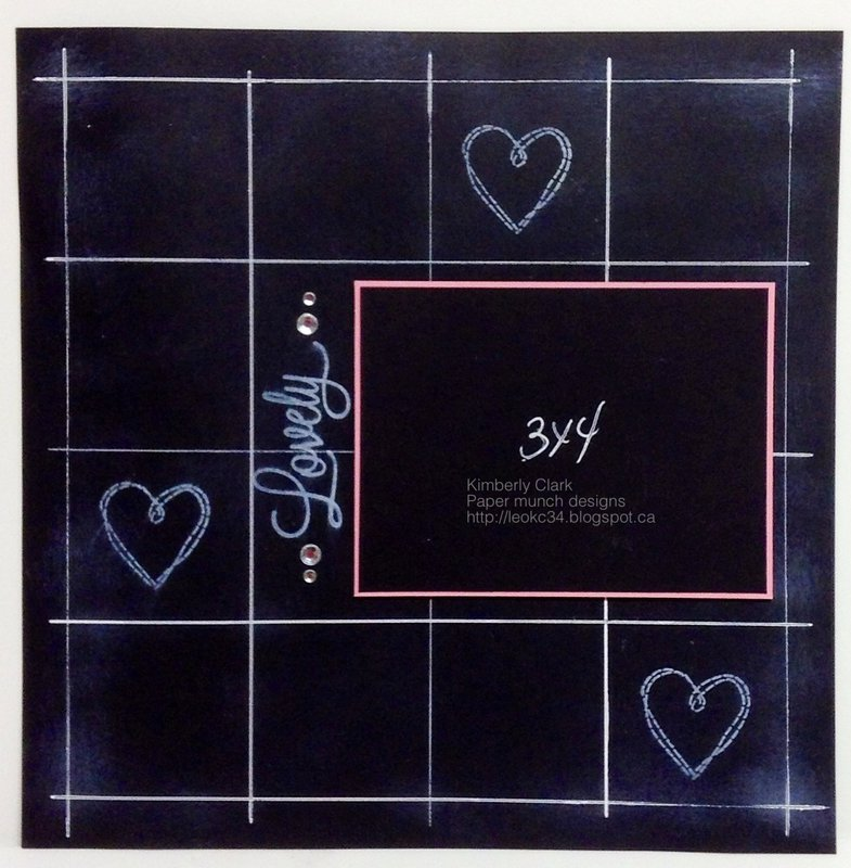 Black board page