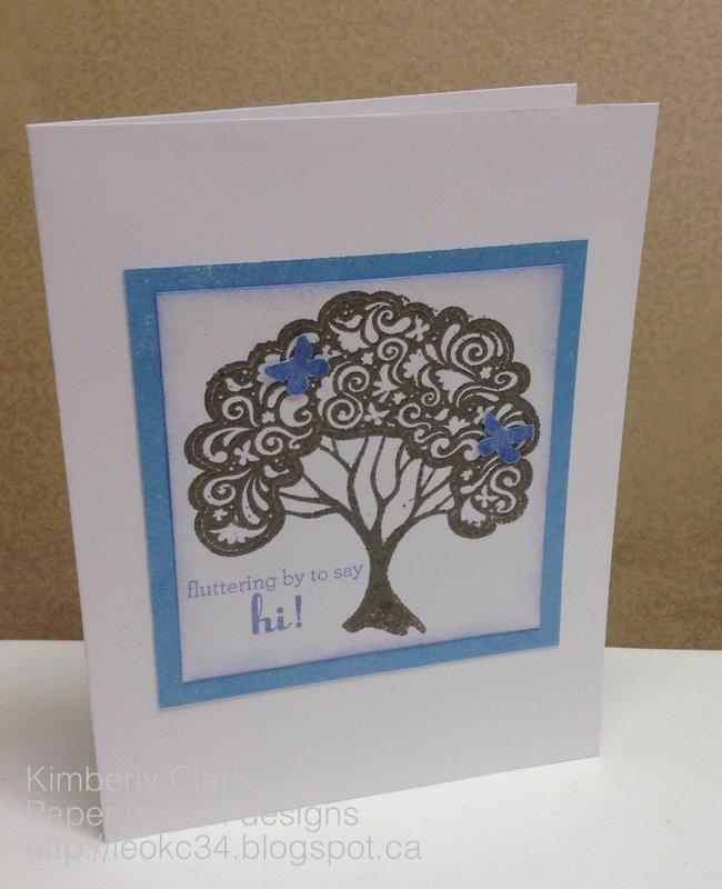 A tree ctmh card