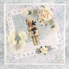 """Card using """"Frozen Paper"""" by Craft & You Design"""