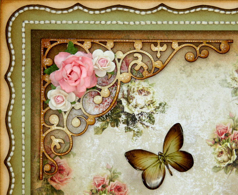 """""""Teach Me Your Ways O Lord"""" 12x12 Wall Hanging using STTG Chipboard & """"House of Roses""""!!"""
