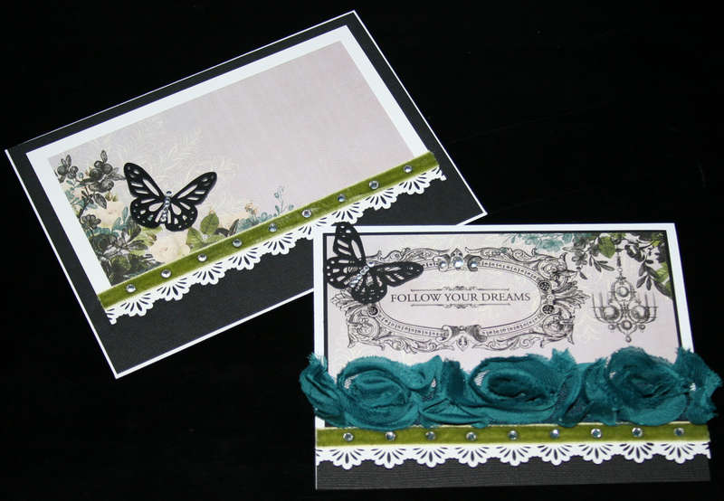 """""""Follow Your Dreams"""" - Webster's Pages Card & Envelope"""