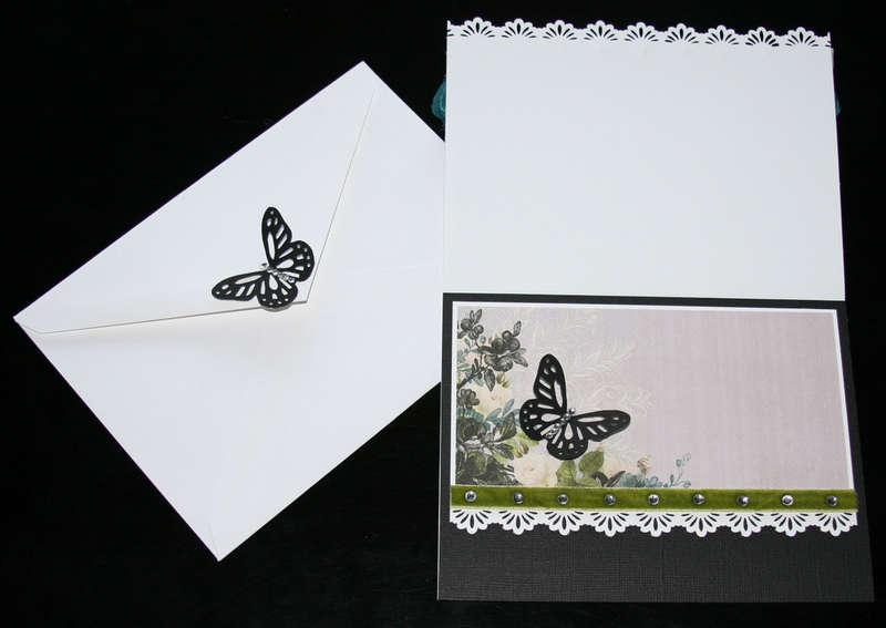 """Follow Your Dreams"" - Webster's Pages Card (inside) & Envelope (back)"
