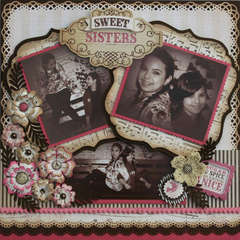 """Sweet Sisters"" Lost & Found Collection by My Minds Eye"