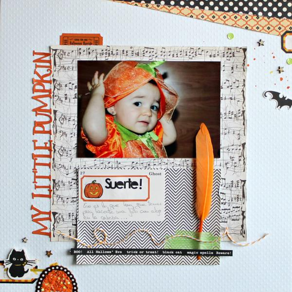My Little Pumpkin *October Afternoon January Challenge*