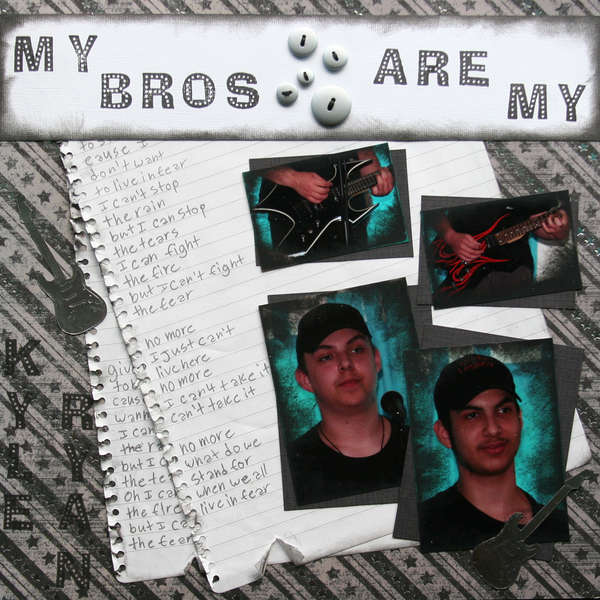 My bros are my ROCK STARS-left side