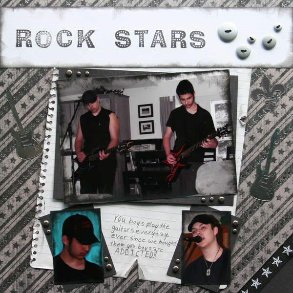 My bros are my ROCK STARS-right side