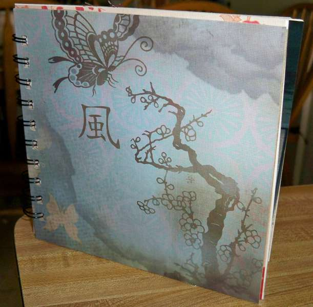6x6 Asian inspired mini brag book