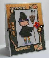 MFT PI Little Witch Card