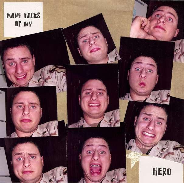 Many Faces of my Hero