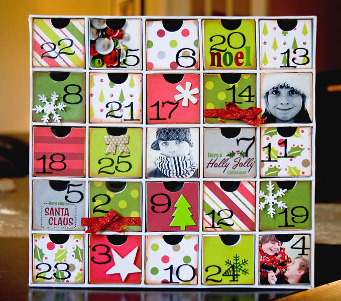 Advent Calendar- American Crafts & Karen Foster