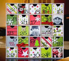 Advent Calendar- American Crafts & Karen Foster