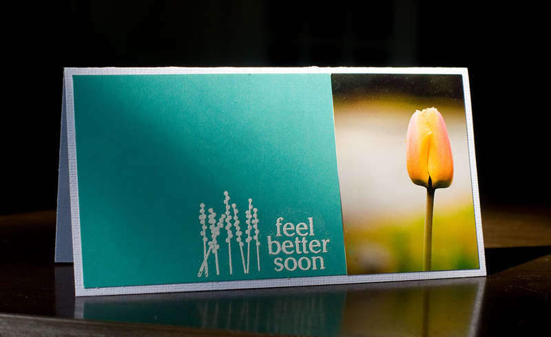 *feel better soon card*- American Crafts