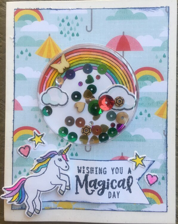 Magical Shaker Card